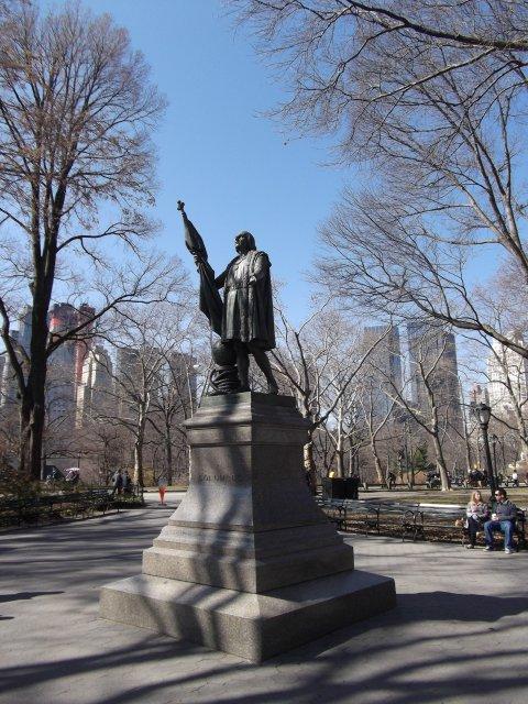 Colón en Nueva York. / Mundiario