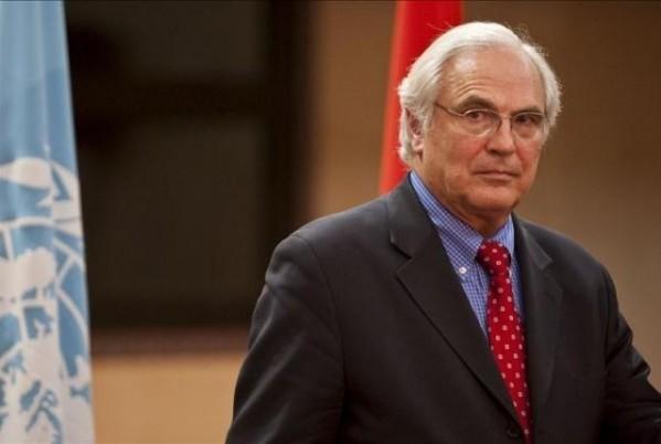 Christopher Ross, el enviado especial del secretario general de la ONU para el Sáhara Occidental.