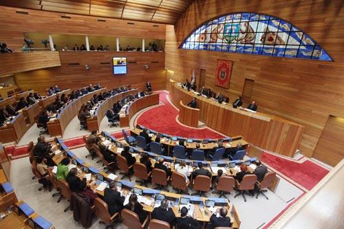 En marcha la iniciativa de rebajar a 61 los diputados del for Sede del parlamento