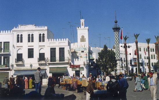 Centro de Tetuán, en Marruecos. / tetuan.es