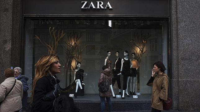 Escaparate de Zara.