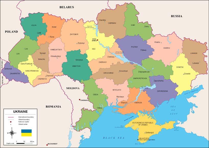 El Control De La Estrategica Crimea Pone A Ucrania Y A Rusia Al