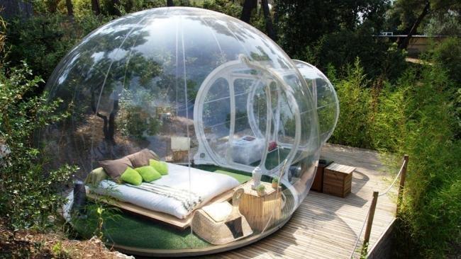 tope de burbuja hotel