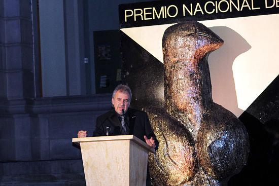 Ángel Boligán, premio nacional de Periodismo en Caricatura 2013, en México.
