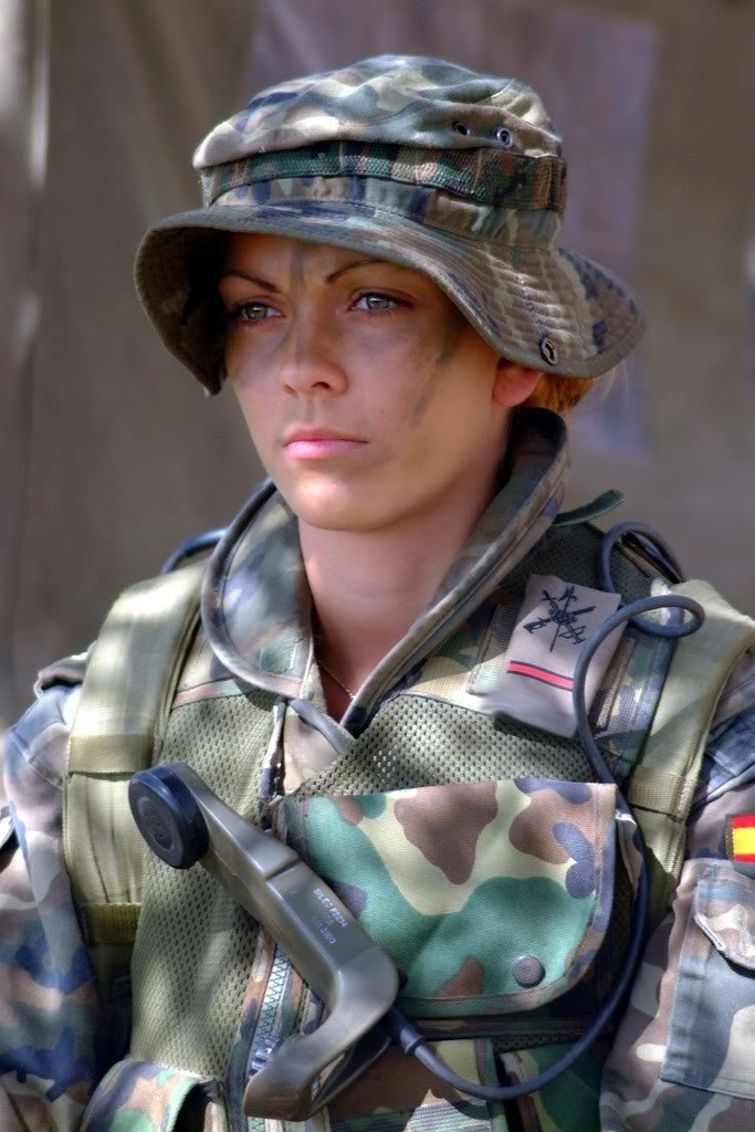 Una militar.