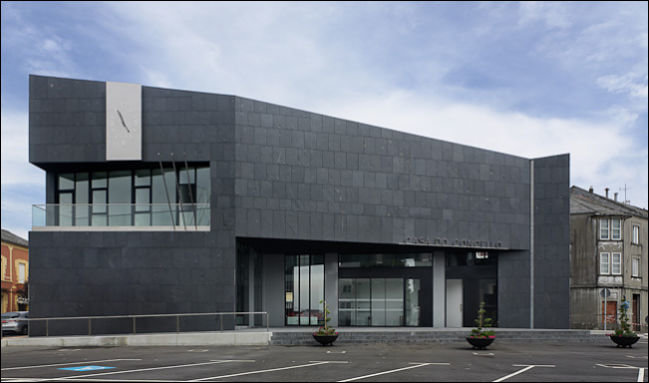 Casa do Concello de A Fonsagrada, en Lugo.