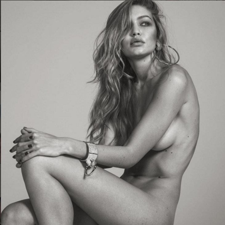 La Modelo Gigi Hadid Protagonizó La Portada Sexy De Vogue Italia