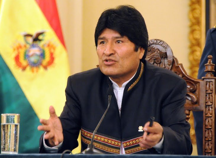 Evo Morales. / radiouchile.cl
