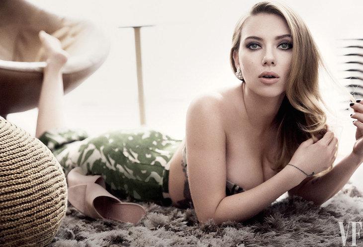 Se Filtran Nuevas Fotografías De Scarlett Johansson Totalmente