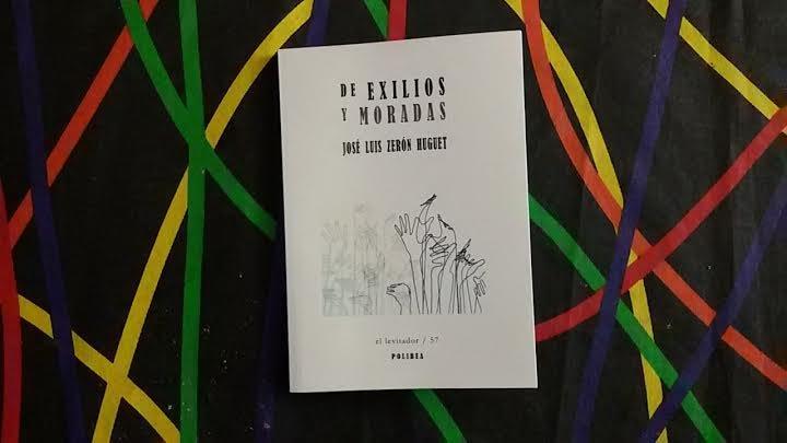 Portada de De exilios y moradas, de José Luis Zerón/ M.G.P