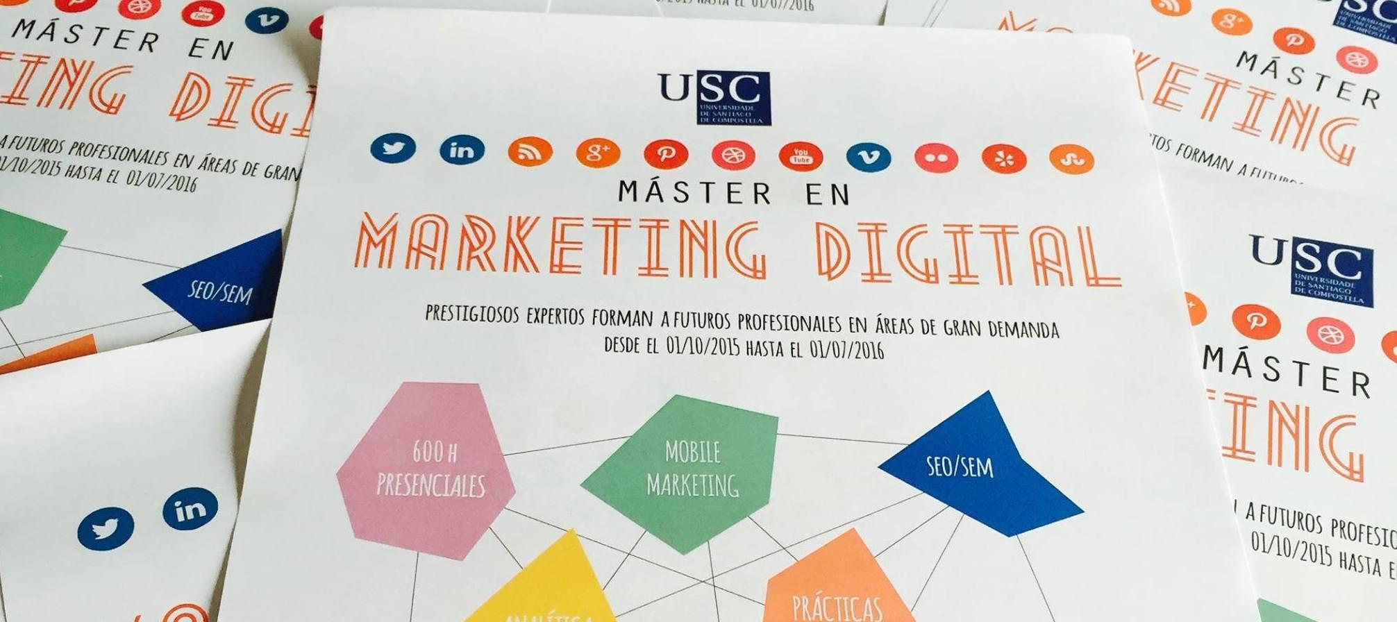 El Máster de Marketing Digital de la USC aterriza para quedarse