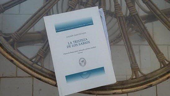 La tristeza de los sabios, poemario de Joaquín Juan Penalva/ MGP