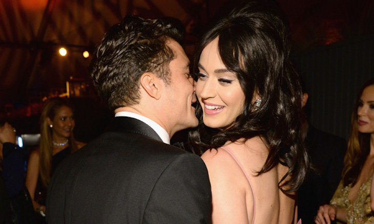 Orlando Bloom y Katy Perry. / Hola.