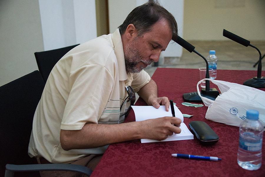José Luis Zerón, poeta/ J.L.Z