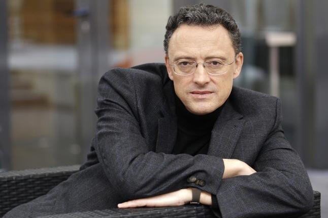 Luis Leante, escritor. / Chema Moya