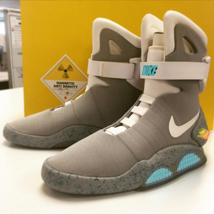 Año Ajustamiento amplitud  Nike pondrá a la venta 200 ejemplares de los zapatos de Regreso al Futuro -  Sociedad - Mundiario