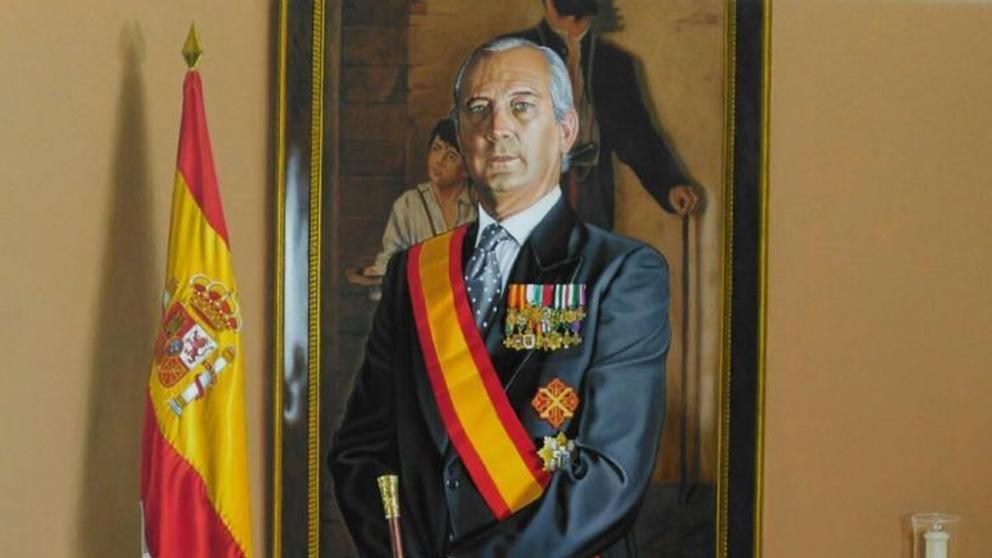 Retrato de Arsenio Fernández de Mesa.