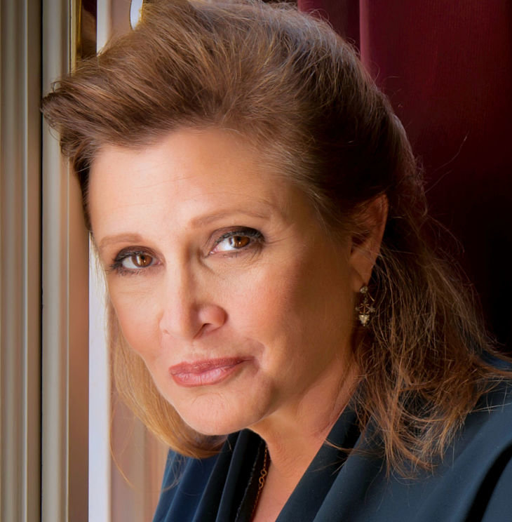 Carrie Fisher. / Wikimedia Commons