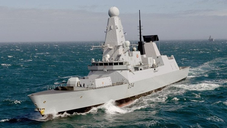 El buque militar HMS Diamond / esp.rt.com