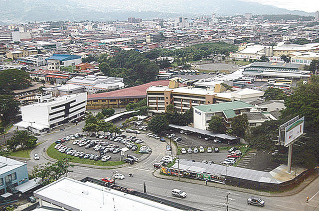 Barrio Tournón, en Costa Rica.