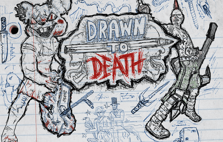 Drawn to death.