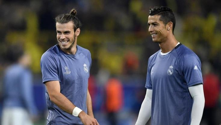 Bale y Cristiano- / RRSS