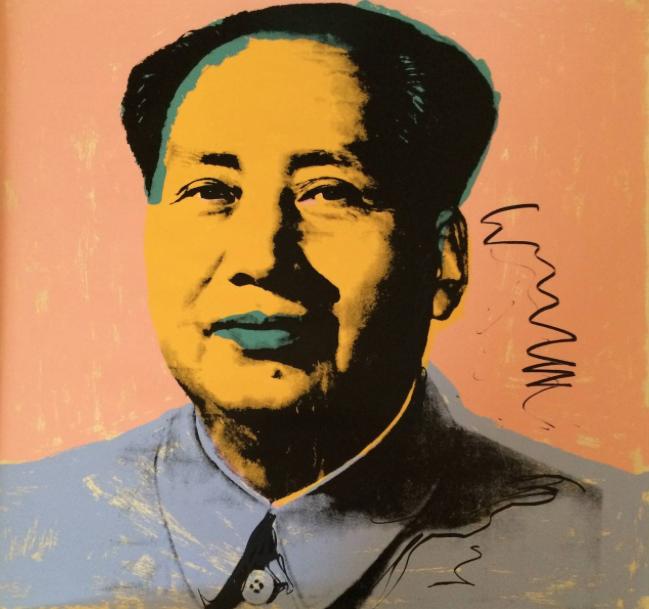 Mao, de Andy Warhol./ guyhepner.com
