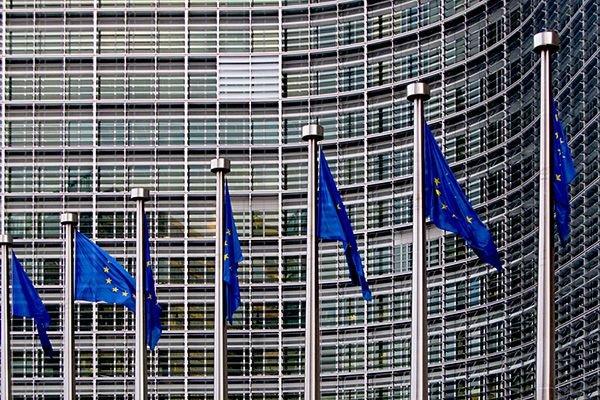 Banderas de la UE.