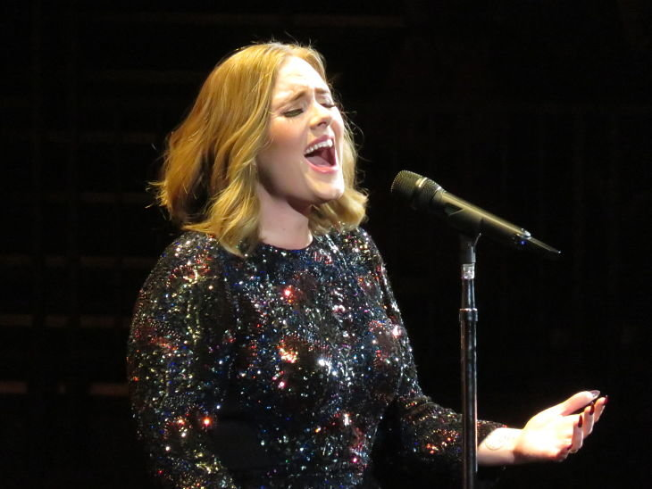 Adele, cantante. / Wikimedia Commons
