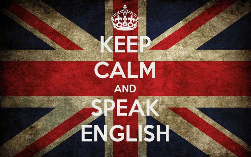 Keep calm and speak english. / Ruta Kaizen