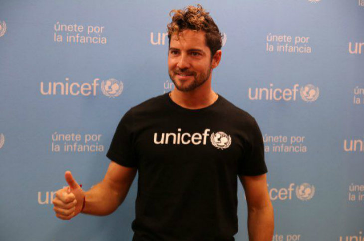 David Bisbal. / UNICEF