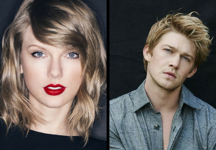 Taylor Swift, cantante; y Joe Alwyn, actor. / Twitter.