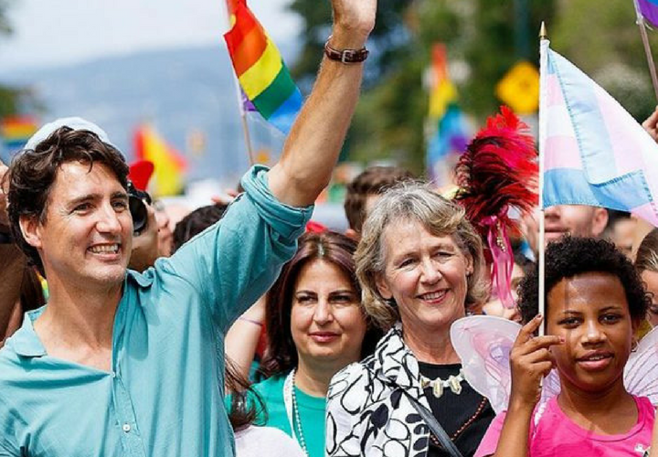 La campaña de imagen perfecta de Justin Trudeau que causa furor en Internet