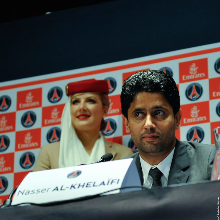 Nasser Al-Khelafi, jefe de Qatar Sports Investments.