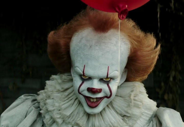 Pennywise, el payaso de It. / YouTube.