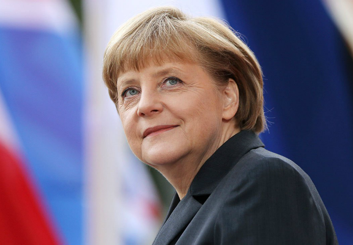 Angela Merkel, canciller alemana. / mirror.co.uk