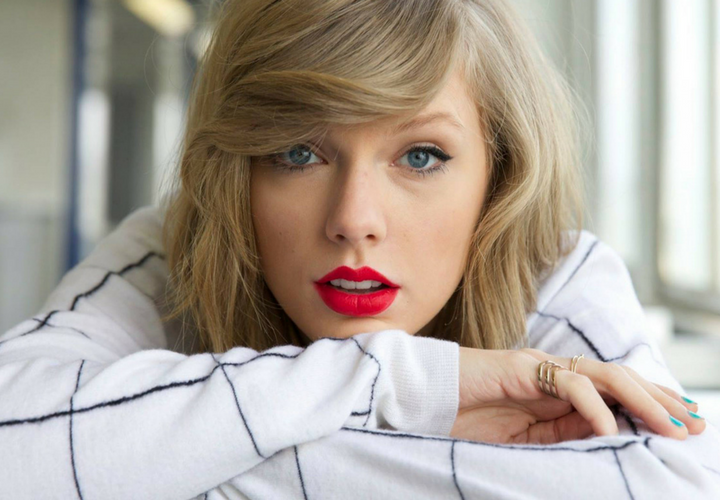 Taylor Swift, cantante. / Pinterest.