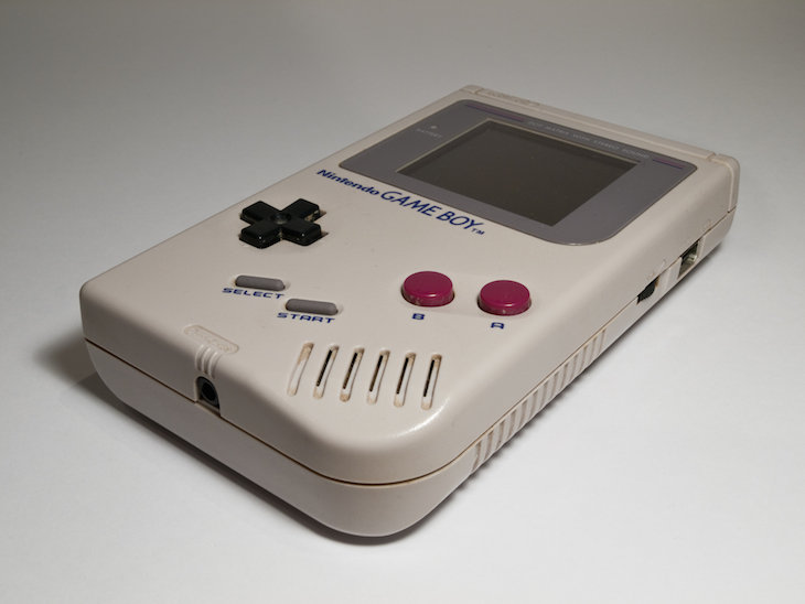 Consola original de Game Boy.