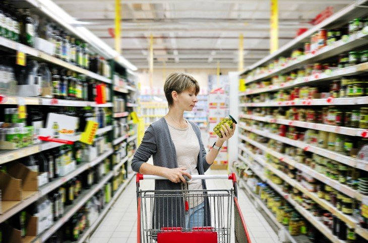 Resultado de imagen para compras en supermercado