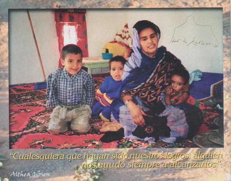 Familia saharaui. / Dar Al Karama