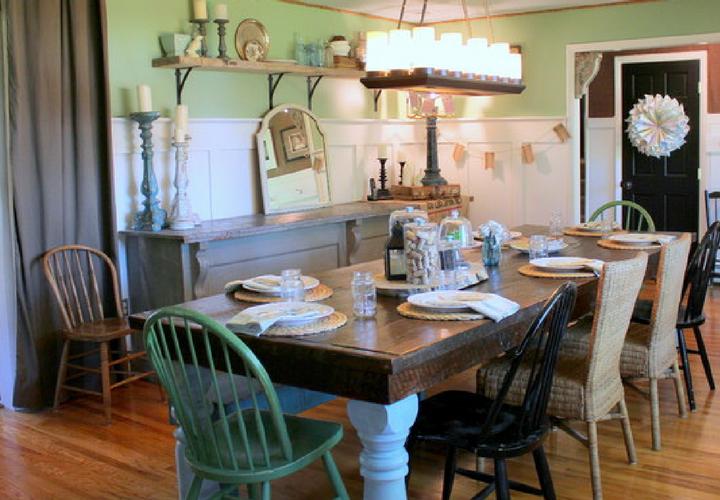 Aprende a combinar el estilo vintage en tu casa for Casas estilo vintage