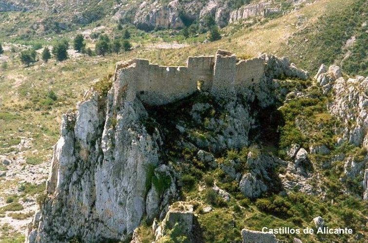 Castillo de Aljofra o de Confrides.