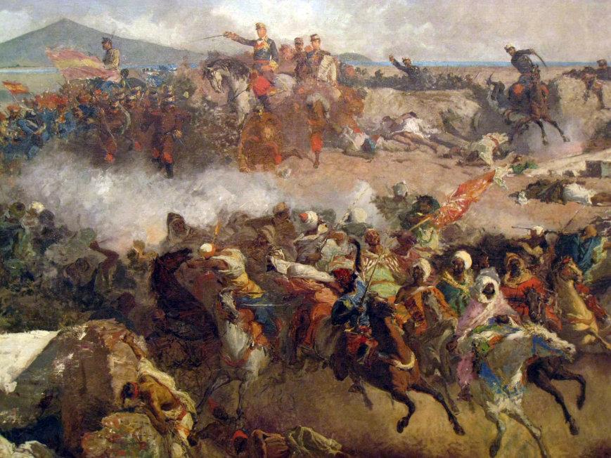 La batalla de Tetuán de Fortuny. / Mundiario