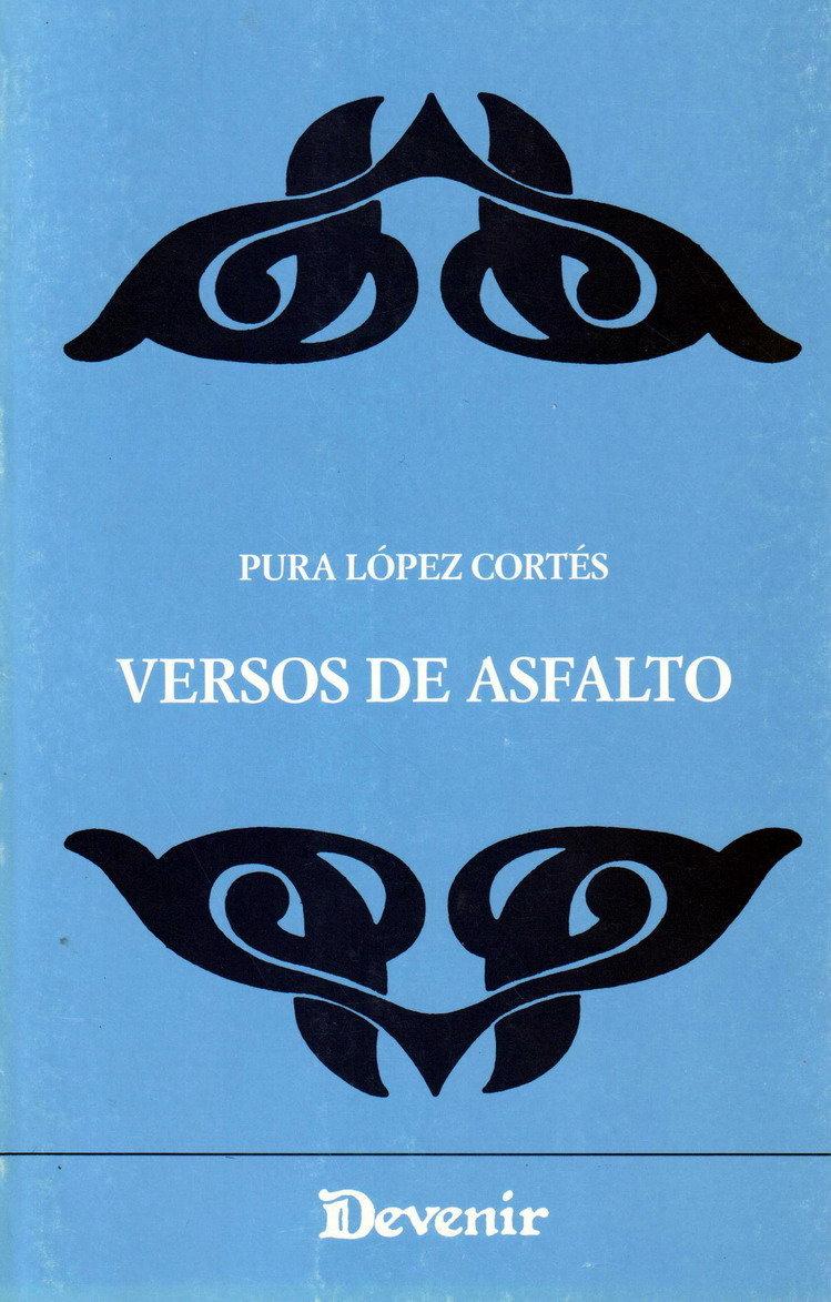 """Portada de """"Versos de Asfalto"""". / RR SS"""