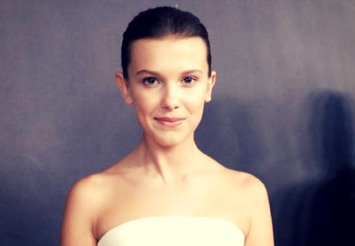 Millie Bobby Brown, actriz. / Pinterest.