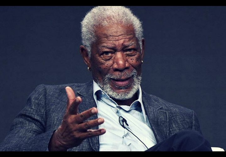 Morgan Freeman, actor. / RR SS.