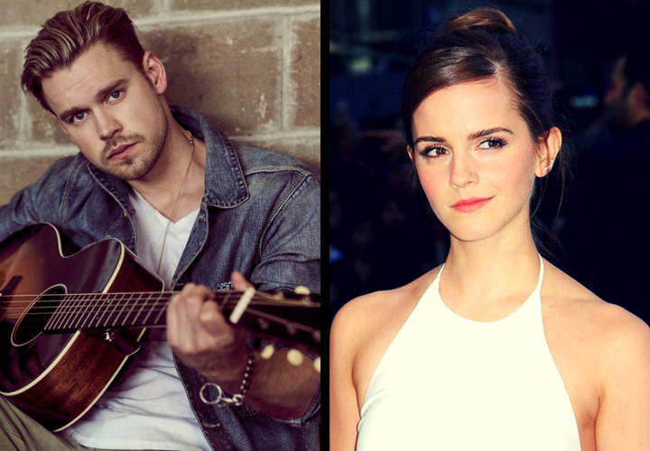 Chord Overstreet, actor; y Emma Watson, actriz. / RR SS.