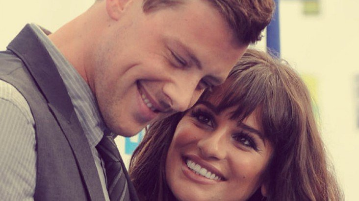 Cory Monteith, actor y Lea Michele, actriz. / RR SS