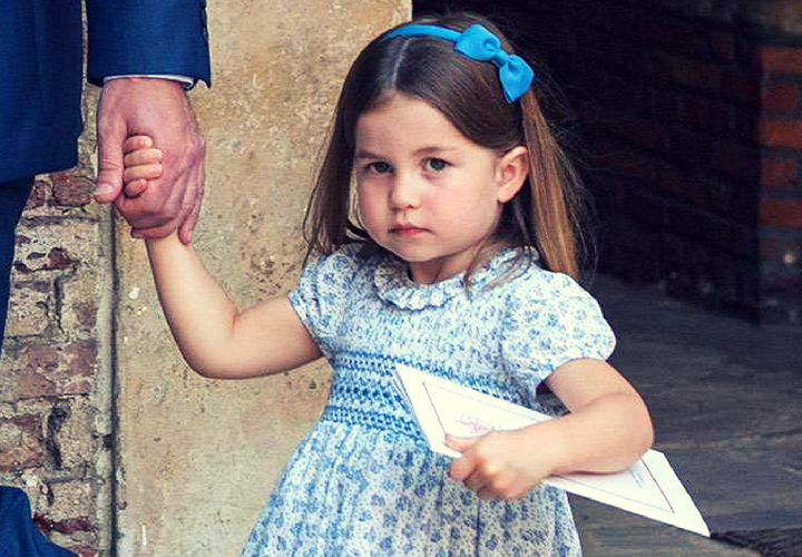 Princesa Charlotte de Cambridge. / Instagram.