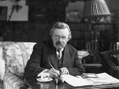 Gilbert Keith Chesterton.